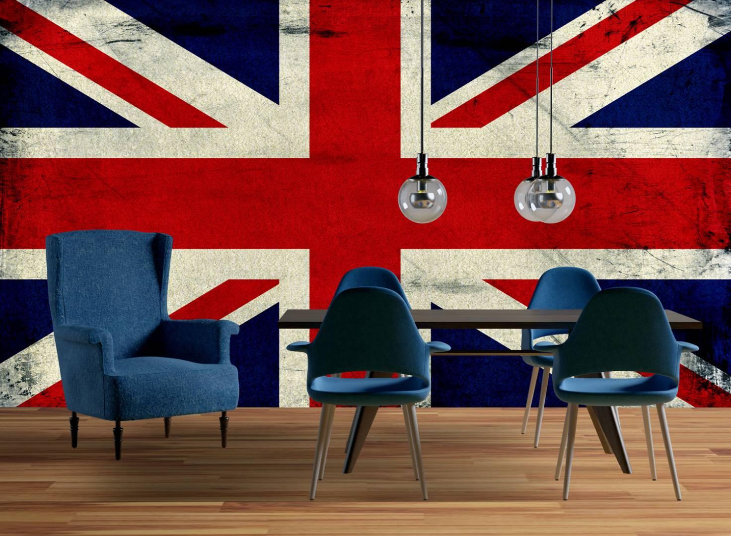 טפט דגל בריטניה וינטג'