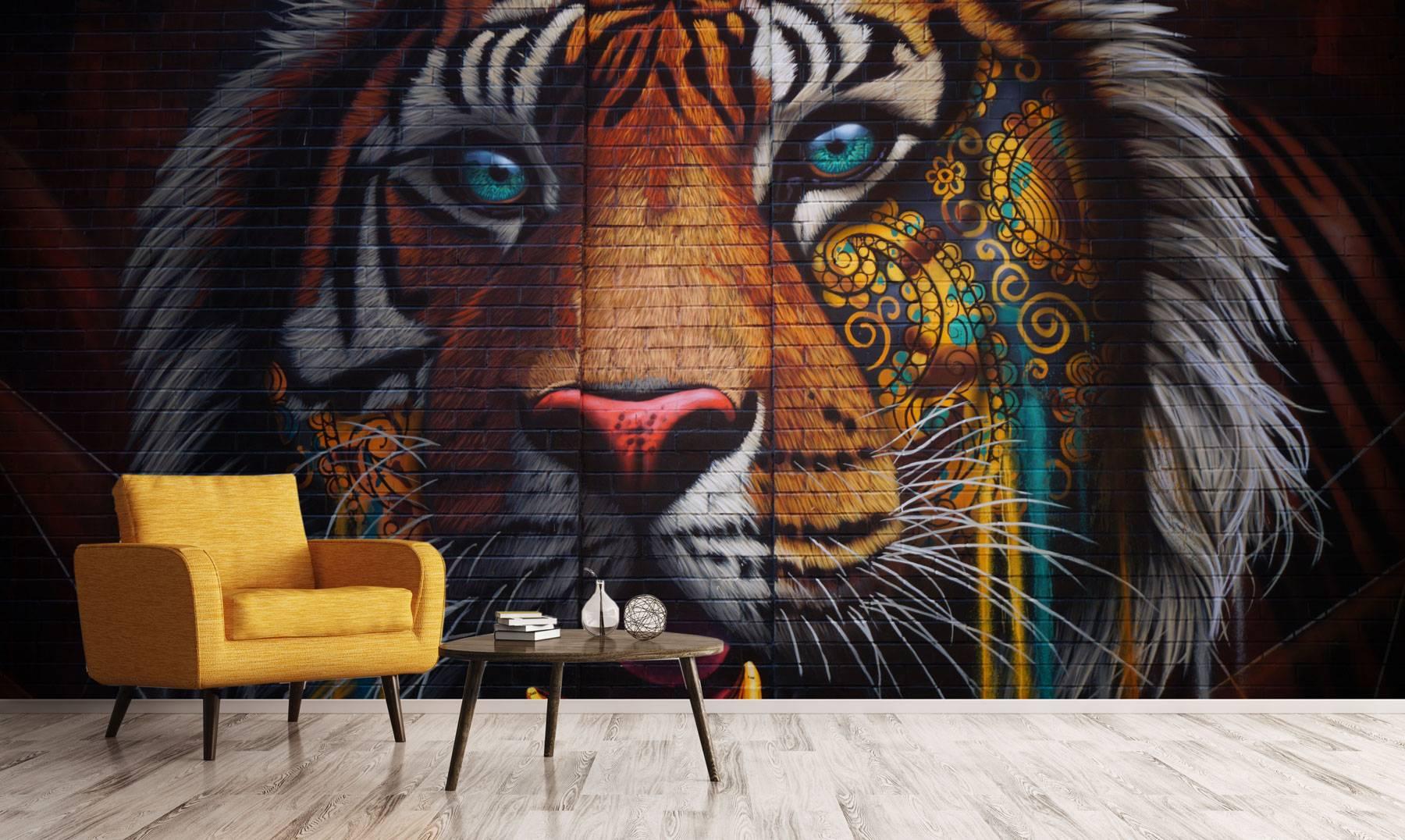 טפט THE INDIAN TIGER